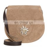 Trachten bag Dirndl Handbag Trachten leather bag Seude Leather Bag`