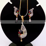New Artificial American Diamond Pendants Set for Ladies at Wholesale Prices in India