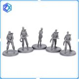 Factory wholesale board game action figurine PVC miniature OEM action figure
