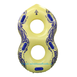 inflatable water park tube, heavy river tube double