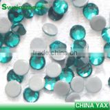 7A top quality factory wholesale hotfix rhinestones bulk,bulk rhinestones hotfix,bulk hotfix rhinestones blue zircon ss4-ss40