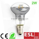 led light bulb clear glass reflector Led Filament bulb E14 2W R50/R63/R80                                                                         Quality Choice