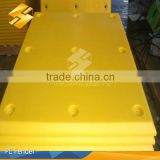 2014 hot sale uhtra high impact resistance mould 30mm uhmwpe sheet for marine fender pad