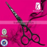 Teflon coating hair cutting scissor, SUS440A Fashion beauty shears, Chinese wholesale school kits
