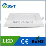 Hot sale recessed LED down light square and round 3w 4w 6w 9w 12w 15w 18w 20w 24w 36w 48W led light panel