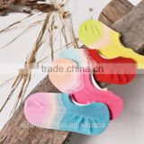 Colorful rainbow high fashion indivisible shoe socks