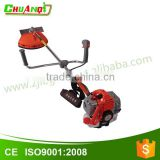 43cc gasoline engine grass trimmer/mower 2 stroke brush cutter with Straight Metal Blade