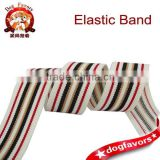 Color stripes between color elastic band, waistband