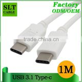 SLT Full Copper Material High Speed USB 3.1 Type C Cable For Letv Max ZUK Z1Vivo X5