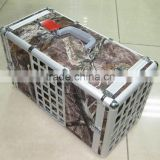 household Aluminum pet grooming cage carrying case
