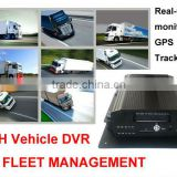 4CH Full D1 Recording Remotely Live View/ Playback/ File Download/ Upgrade Vehicle CCTV DVR Recorder
