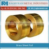 Hot Sale of Brass Sheet Foil by Respectable Supplier at Market Rate