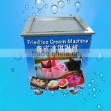 ZQR500 Flat Pan Fried Ice Cream Maker Machine, Ice Cream Rolls Making Machine                                                                         Quality Choice