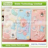 Resin plastic accessories decorated hard phone cover case - Make your own design for any phone model