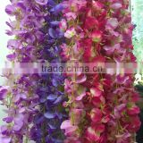 Artificial wisteria wall hanging flower decoration buy direct from factory