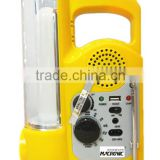 Reachargeable Emergency Lantern With FM/AM Radio