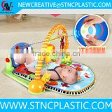 Remote Control Kick N Play Piano Gym Baby Mat Grow Activity Musical Toy New