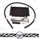 10/14/19/25 Row Universal Engine Transmission Oil Cooler ,Aluminum Stacked Plate Oil Cooler Radiator for car