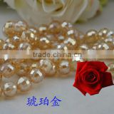 wholesale fashion jewelry and decorative bead,beads for diy band,round glass beads