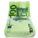 Factory Custom-Made EUR Dollar Microfibre Polyester Printing Bath Towel / Microfibre Bath Towel