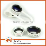 0.67 Wide + Macro Lens With Clip Clamp For iPhone Samsung Cell Phone Camera Lens