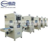 HF welding and cutting machine for blister packing,tooth brush packing,soft crease plastic box