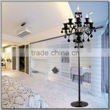 Wholesale Home Lights Awesome Floor Lamps Black Crystal Lamps Floor Lamp Base Parts FL1003