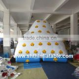 inflatable floating climbing mountain for water park/ inflatable iceberg                                                                         Quality Choice