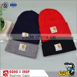 fleece beanies with visor 2014 fashion hot sale colourful knitted beanie hat