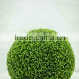 garden decoration artificial flower ball, artificial grass ball indoor