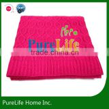 SZPLH New design Cable Knit Throw Pattern