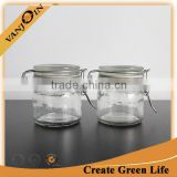 Wedding Favor 100ml Clear Glass Food Jar For Candy