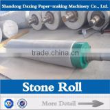 granite/nature stone roll for paper mill