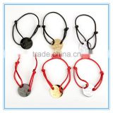 Round Licensing Manual Hand Rope Couple Red String Bracelet