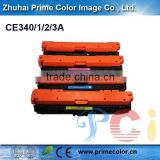 Wholesale toner cartridge for HP CE340A CE341A CE342A CE343A (651) with Chip