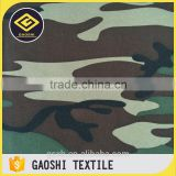 Functional OEM Service 600D Polyester Camoflage Printed Qxford Vehicle Tools Bag Fabric With PVC Backing