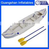 white plastic inflatable 2 person kayak boat                                                                         Quality Choice