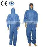 SMS Nonwoven Disposal Chemical Protective Coverall for Painting