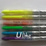 multi colored highlighter pen permanent marker erasable pen high lighter color piant pen