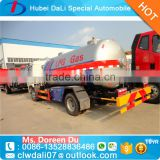 China factory sale Dongfeng 4*2 two axles 5.5 m3 LPG trucks