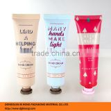 30ml matt finish offset printing surface handling cosmetic tubes packaging for hand cream