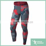2015 new design printed camo mens custom compression pants                                                                         Quality Choice
