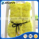 lovely baby kids overseas wholesale suppliers man-made fur vest