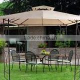 garden deluxe wrought iron balcony canvas gazebo tent