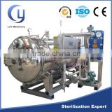 Spray type steam fish canned food sterilization retort steam autoclave