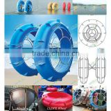 European standard eco-friendly LLDPE water park equipment