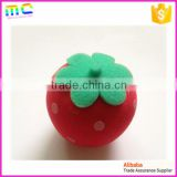 2016 a series of fruits strawberry shaped baby body bath baby sponge                                                                         Quality Choice