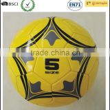 Fashion design popular custom PVC stock lot soccer ball size 5