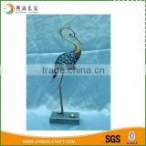 New product antique style crane metal home decoration                                                                                                         Supplier's Choice