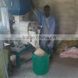 Portable rice milling for family